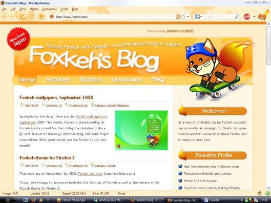 Foxkeh Theme