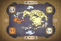 Peta 4 negara bagian